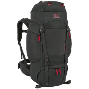 Highlander Rambler 66 liters rygsæk i sort
