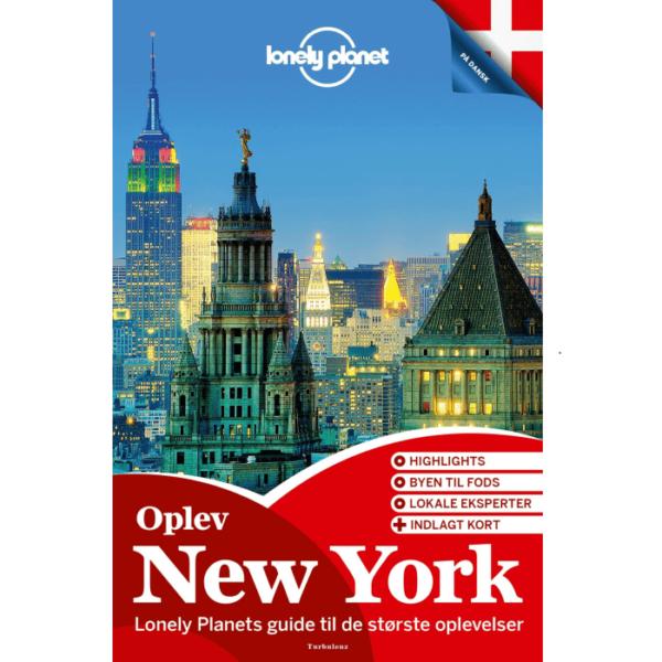 Lonely Planet Oplev New York (Dansk)
