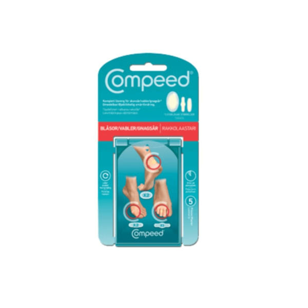 Compeed mix 5 stk vabelplaster