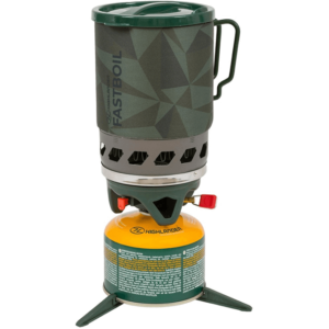 Highlander Fastboil Flash 3 gasbrænder 1.1L grøn