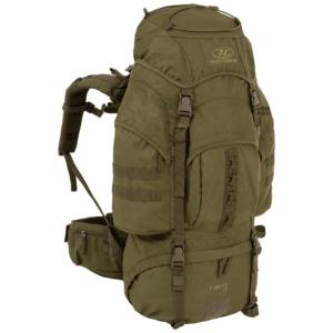 Highlander Pro Force rygsæk 66 liter grøn