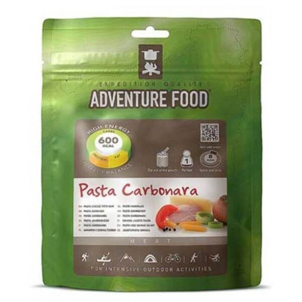 Frysetørret mad Pasta Carbonara