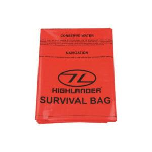 Highlander Overlevelses Bivi Bag Nødshelter To personer