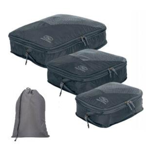 Highlander Compakta pakkeposer med vaskepose