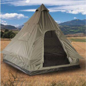 Mil-Tec pyramide telt i tipi design - 4 personer
