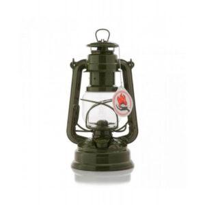 Feuerhand Hurricane lanterne grøn