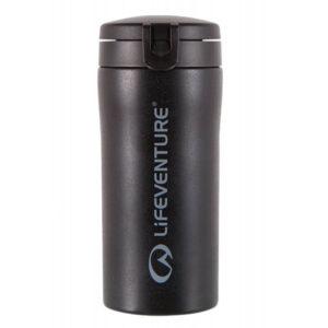Lifeventure termokrus flip-top 300 ml i sort