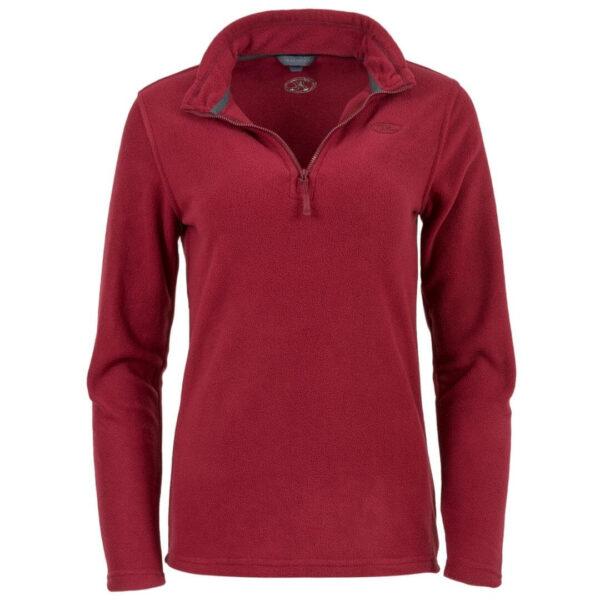 Highlander Ember fleecetrøje til kvinder rød