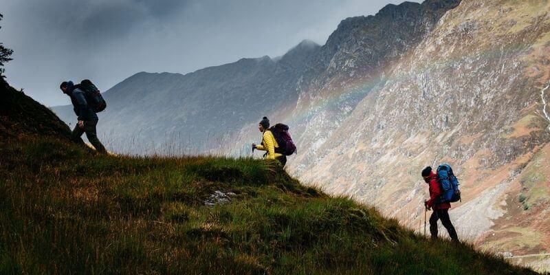 Billede af vandre og trekking udstyr