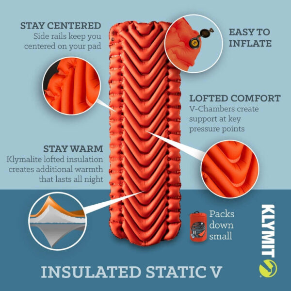 Klymit Insulated Static V Recon liggeunderlag