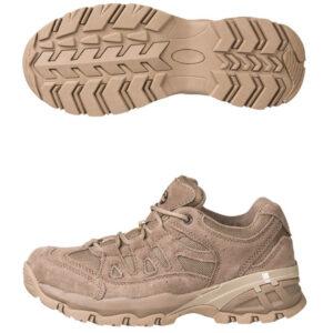 Mil-Tec Squad Boot vandrestøvler kort sand