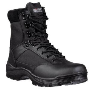 Mil-Tec Tactical Boot vandrestøvler med lynlås sort
