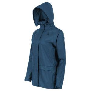 Highlander Stormguard Stowaway jakke til kvinder blå