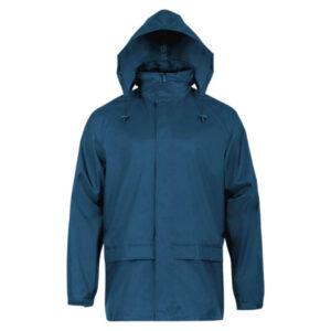 Highlander Stormguard Stowaway jakke til mænd blå