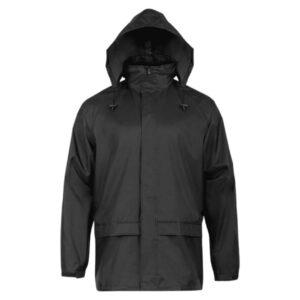 Highlander Stormguard Stowaway jakke til mænd sort