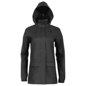 Highlander Stormguard Stowaway jakke til kvinder sort