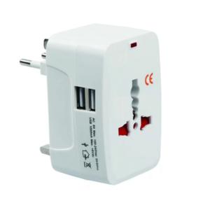 Universal rejseadapter inkl. USB